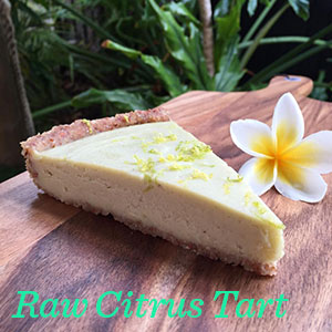 Raw Citrus Tart
