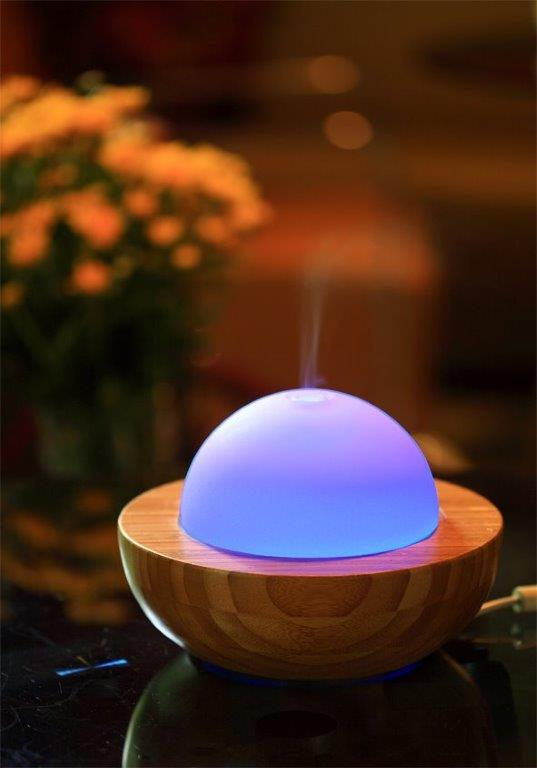 Bamboo & Glass Diffuser